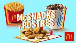 McSnacks y Postres