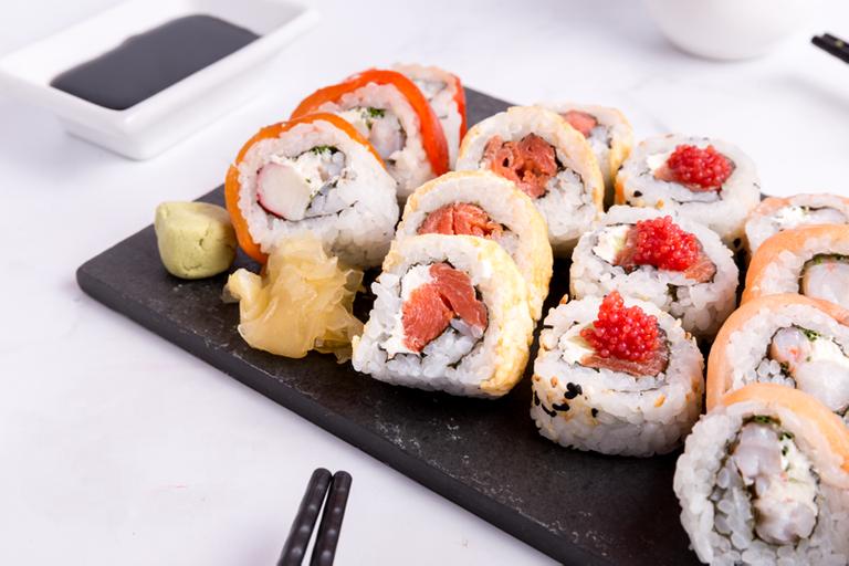 Logo Temaki Sushi