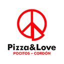 Pizza & Love background
