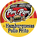 Pim Pam Burger & Chicken Wings background