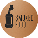 Smoked Food background